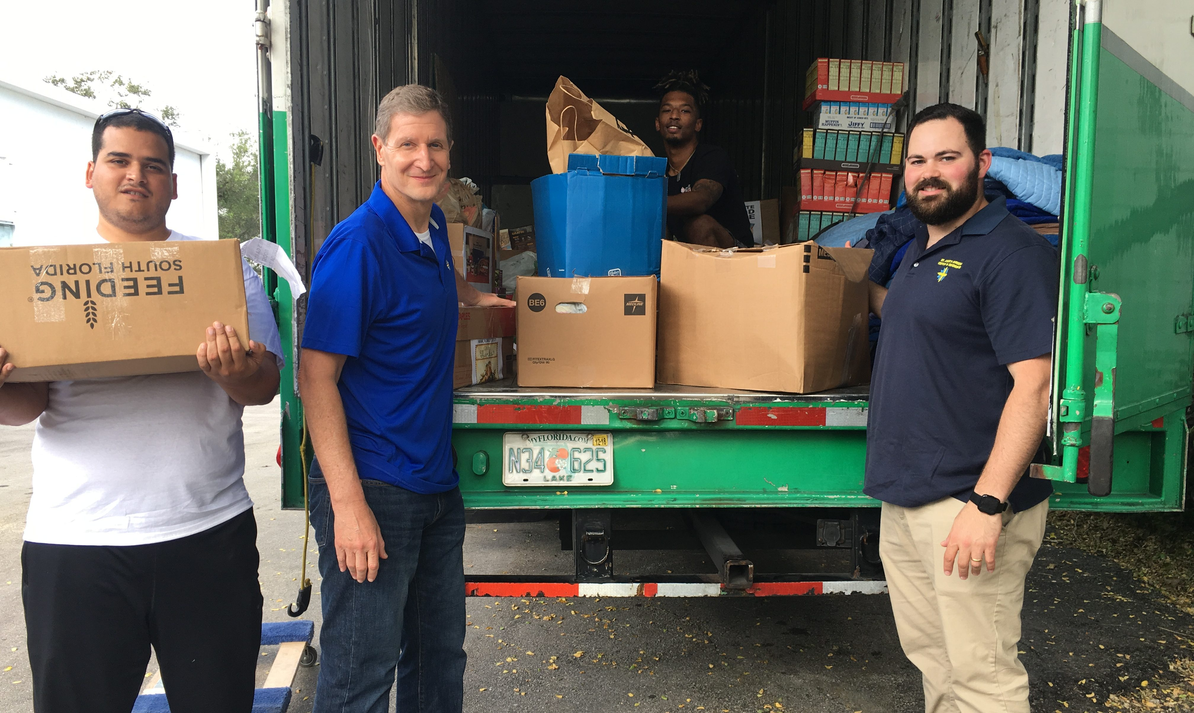 Catholic Health Services works with Feeding South Florida