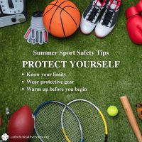 Summer Safety Tips Sports